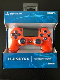 New - Unofficial Sunset Orange DualShock 4 Controller for PS4 Burnaby, V5E 1H3