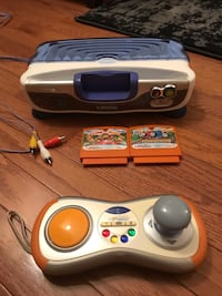 Vtech game system (with games) Manassas, 20111