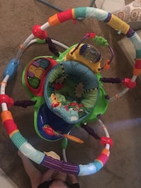 baby's multicolored jumperoo Conway, 72034