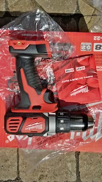 """NEW Milwaukee M18 1/2"""" Lithium-Ion Cordless Drill Driver Angus"""
