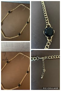 Gold/Silver/Stone necklaces - women jewelry Mississauga, L5M 0C2