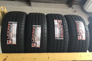 4 new tires 225-35-20