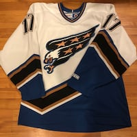 white and blue Nike jersey shirt Germantown, 20876