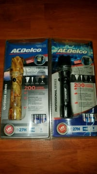 $8!!!! 2 flashlights!!! 100%NEW.