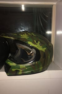 Scooter/dirt bike helmet Saint-Lazare, J7T 2S4