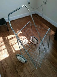 two gray metal grocery cart Arlington, 22203