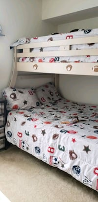 Triple Sleeper Bed, Bunk Bed, Double Bed with mat  Alexandria, 22312
