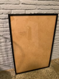 Medium/large black picture frame from ikea