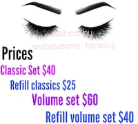 Eyelash extensions Willow Grove