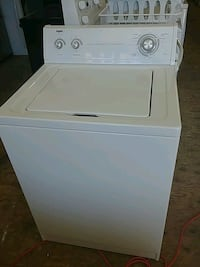 white top-load clothes washer Windsor, N9A 3K7