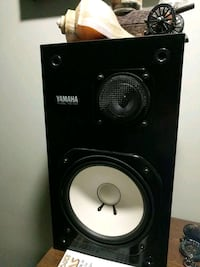 Yamaha speakers, subwoofer, and RCA amp. Macon, 31204