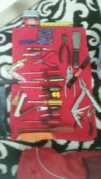 assorted hand tool collection