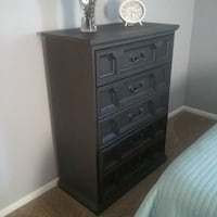 Refinished chalk-painted chest Mount Pleasant, 48858