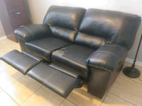 Faux leather reclinable love seat Apopka, 32703