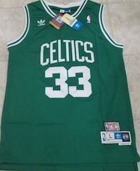 Larry bird Throw back jersey with tags size L Ottawa, K1T 2E8