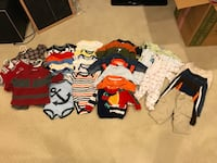 Boys 3-6 months clothes- great condition