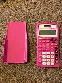 pink and white Texas Instruments TI-83 Plus calculator Hilo, 96720