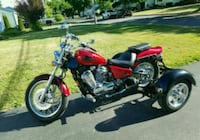 2007 Honda Shadow Motorcycle with Towpack Brockport, 14420