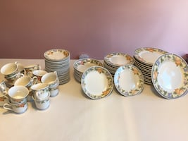 Dinnerware set - great price-it's a steal