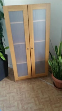 brown wooden cabinet with mirror Longueuil, J4K 2W6