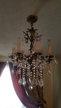 Antique bronze chandelier with high quality crystal  Richmond Hill, L4B 2Z7
