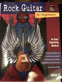 "Guitar music learning book w/cd ""rock"" Akron, 44301"