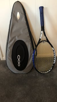 black and blue Prince tennis racket with case - Ozone 3 Silver Spring, 20901
