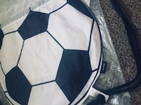BRAND NEW w Tag - SOCCER Ball BACK PACK $8 FIRM Winnipeg