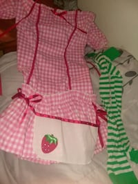 Strawberry shortcake girl adult costume size small Simpsonville, 29681