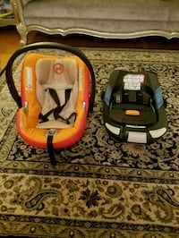 Cybex Aton Q car seat with base Springfield, 22150
