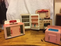Vintage Barbie Kitchen Set
