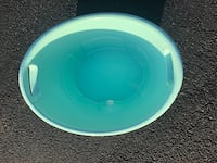 round white and blue plastic container Potomac, 20854
