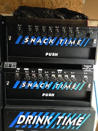Snack Time and Drink Time Vending Machines for sale Dix Hills
