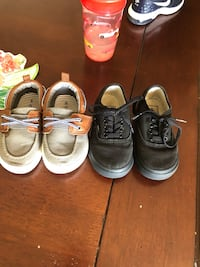 Boys vans and carters shoes. 15 each or 25 for both Asheville, 28806