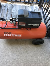 Craftsman compressor 25 gallons oil less 6.1 cfm@90psi perfect working condition  Coquitlam, V3E 0H8