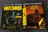 Watchmen Blu Rays For Sale $20 for both London