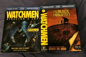Watchmen Blu Rays For Sale $20 for both