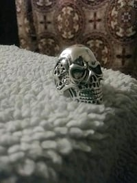 Skull ring sz 10 Independence, 64052
