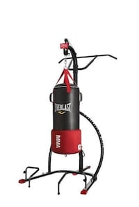 Black and red everlast heavy bag Hollister, 95023
