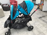 Contours options elite double stroller in good condition, used only for few months... comes with car seat Lindenhurst, 11757