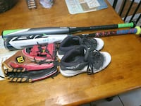 Baseball cleats are y 4.5  glove is 11.5 bat is 29 inch Hagerstown, 21742