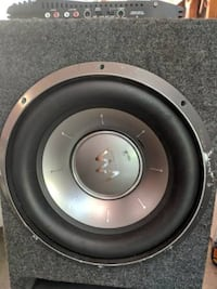 "2 12"" Competition Subwoofers with Amp Cuyahoga County"