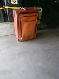 red and black travel luggage Bakersfield, 93309