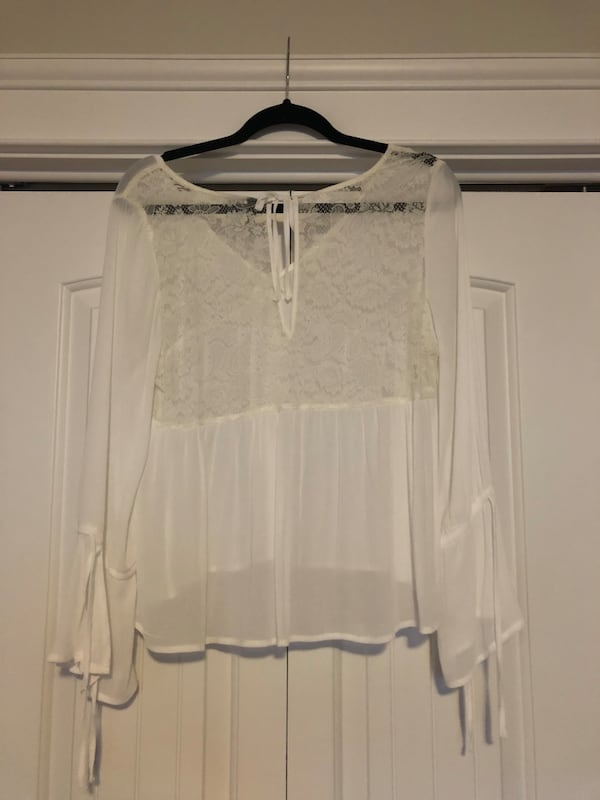 Babydoll Style Blouse with Bell Sleeves  a199ee27-47ea-4c2a-b1e9-bdbd9296cf8c