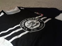 #003 *Authentic* DC UNITED Jersey (L) BLK/WHT Washington