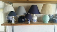 Lamps with shades prices vary