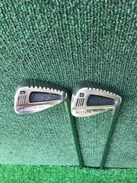 Matching Pair of Slotline Iron Duke Tracking Sole PW and SW