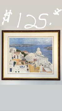 Greece oil painting  Laval, H7M 4V4