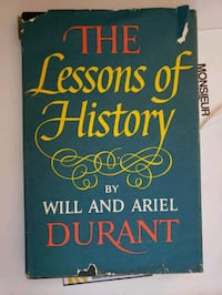 The Lessons of History (1st Edition) Seattle, 98112