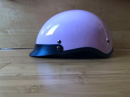 Pink Helmet- Small Scooter / Motorcycle Helmet